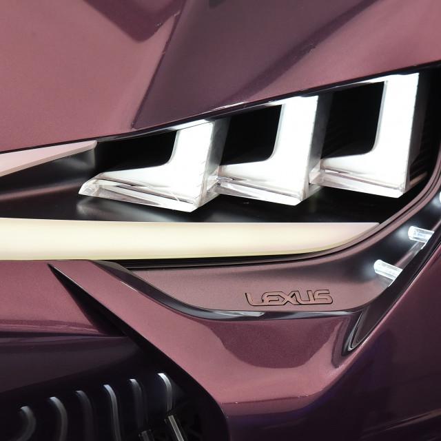 """""""Automotive Art Courtesy of Lexus"""" stock image"""