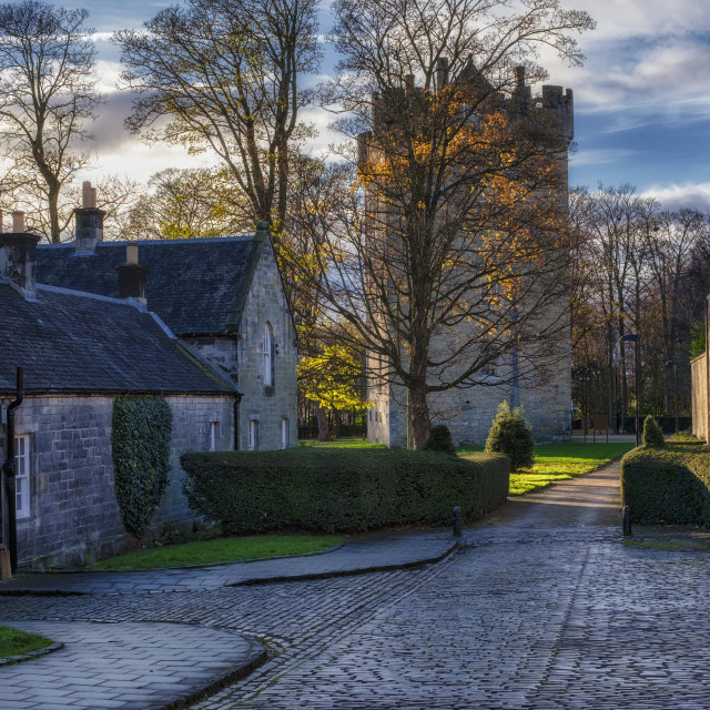 """Alloa Tower in Scotland"" stock image"