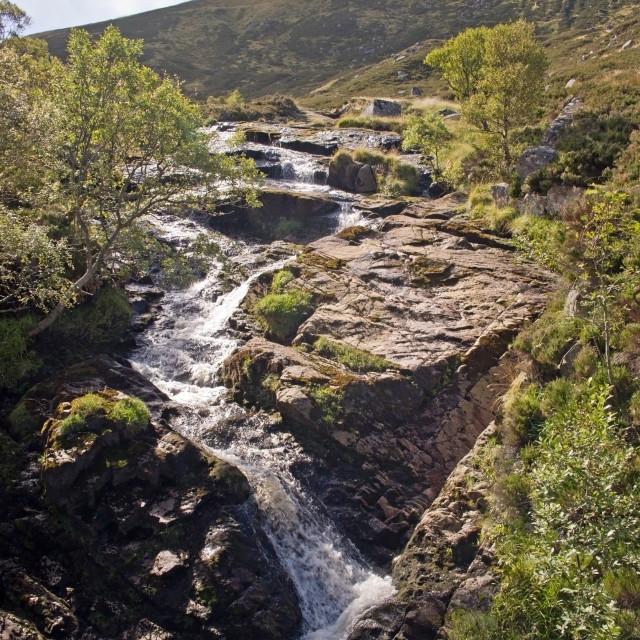 """Loch Muick Blackburn"" stock image"