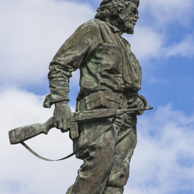 """""""Cuba, Santa Clara, Plaza de la Revolución, Monumento Ernesto Che Guevara"""" stock image"""