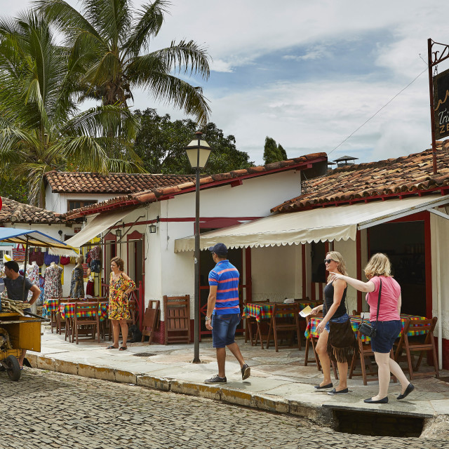 """Pirenópolis is a town located in the Brazilian state of Goiás; Colonial..."" stock image"