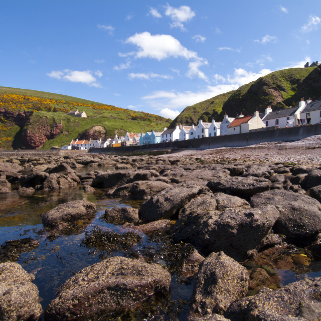 """""""Pennan Tide Out"""" stock image"""