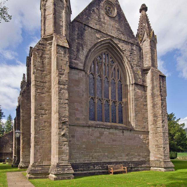 """""""Dunkeld Cathedral"""" stock image"""
