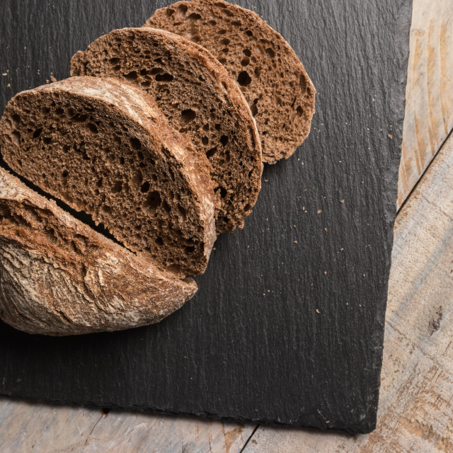 """Malt loaf bread"" stock image"