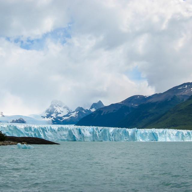 """""""Perito Moreno Glacier, Argentina"""" stock image"""