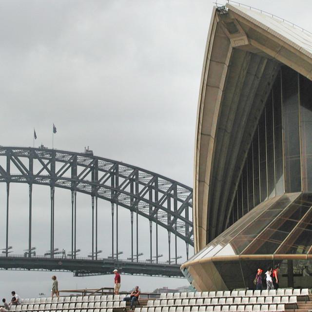 """Sydney Landmarks"" stock image"