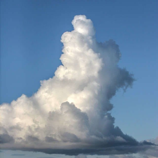 """Towering Cumulus"" stock image"