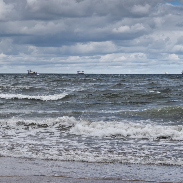 """Aberdeen Bay"" stock image"