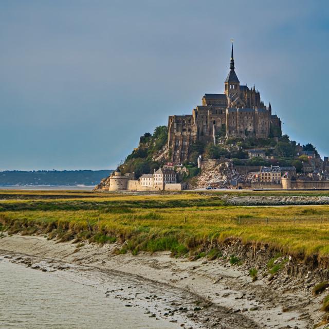 """""""Le Mont-Saint-Michel"""" stock image"""