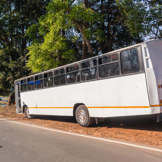 """Bus Passenger Vehicle"" stock image"