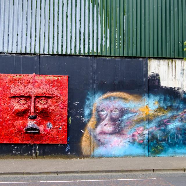 """Graffiti 3."" stock image"