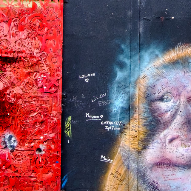 """Graffiti 4."" stock image"