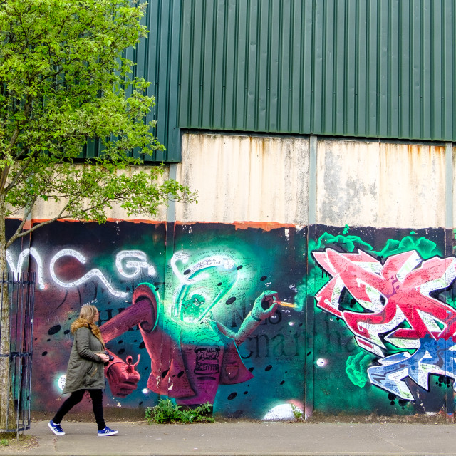 """Graffiti 5."" stock image"