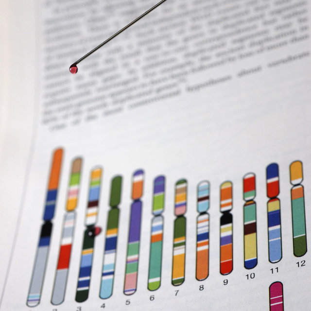 """""""DNA research"""" stock image"""