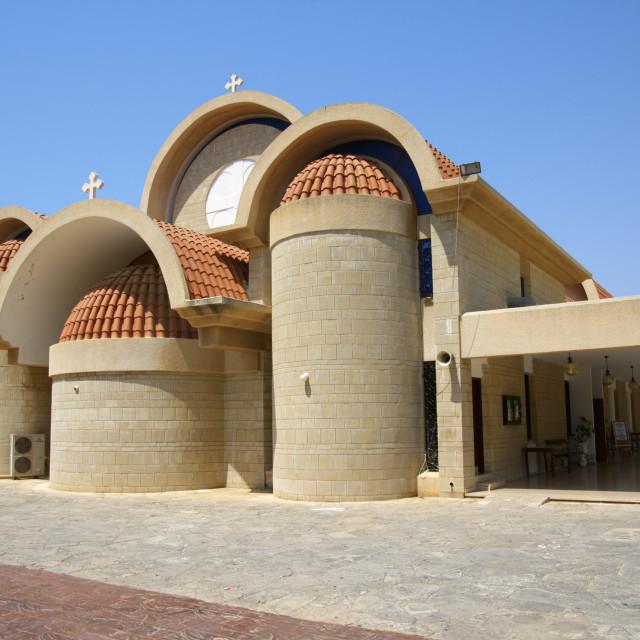 """Cyprus, Agia Napa Panayia Church"" stock image"