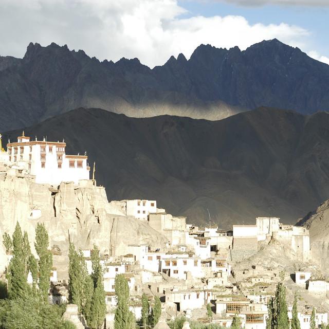 """""""Lamayaru monastery Ladakh, India"""" stock image"""