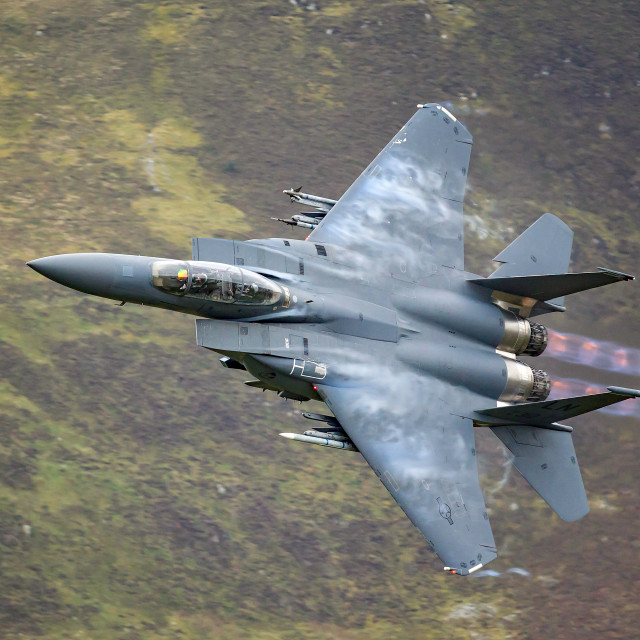 """F-15E Eagle"" stock image"