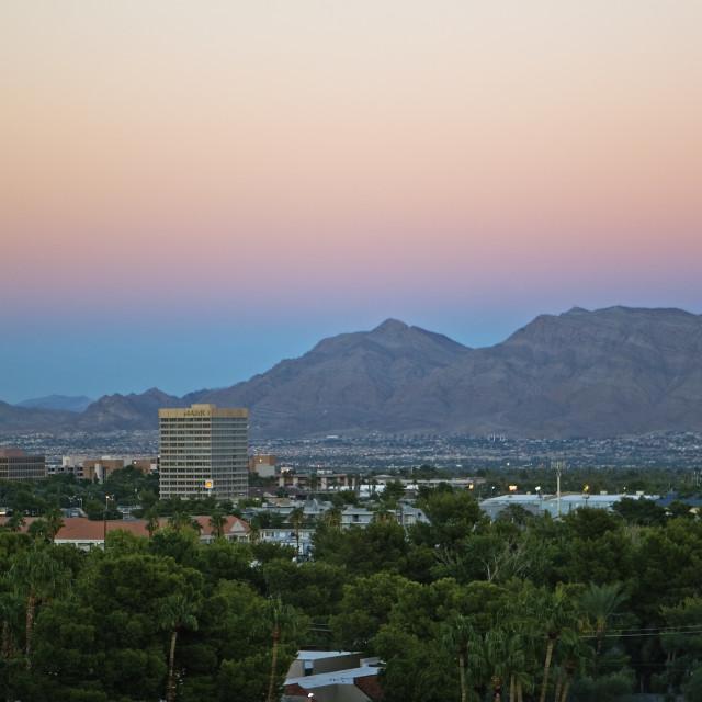 """""""Las Vegas, Nevada, USA"""" stock image"""