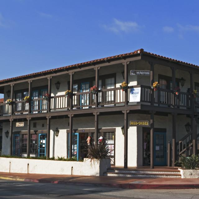 """Old town San Diego California, USA"" stock image"