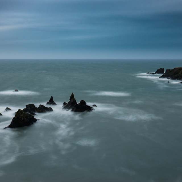 """Mags Rock, Kilfarrasy Co.Waterford"" stock image"