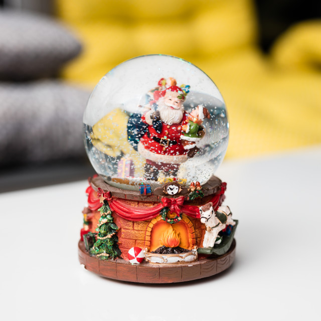 """Christmas globe for decorations"" stock image"