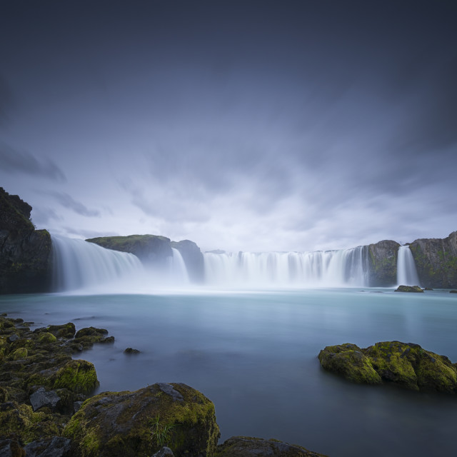 """Cascade of the Gods"" stock image"