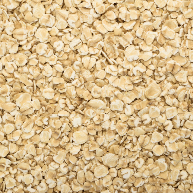 """small wholemeal oat flakes"" stock image"
