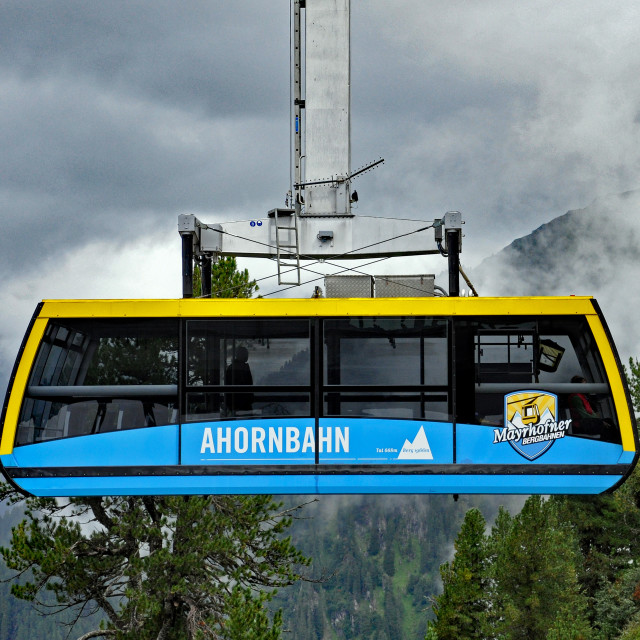 """Cable-car 2"" stock image"