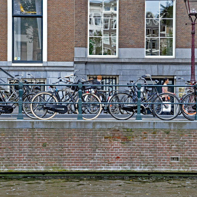 """""""Amsterdam canal 2"""" stock image"""