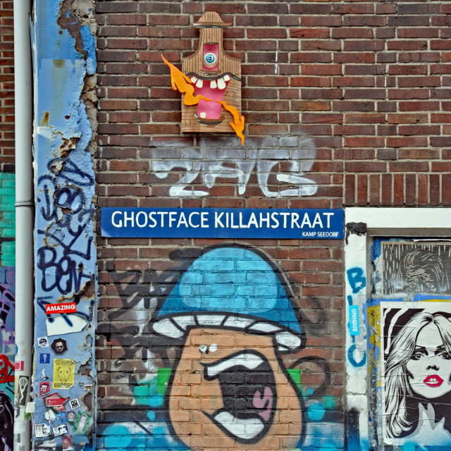 """Dutch graffiti 2"" stock image"