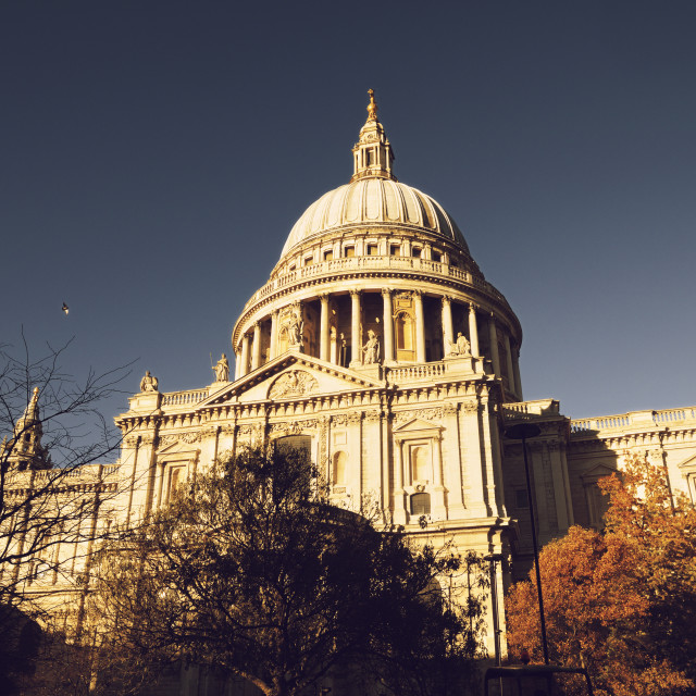 """St Paul's Cathedral, London"" stock image"