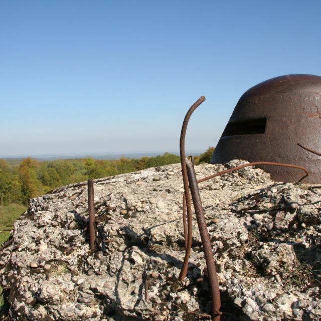 """Fort de Douaumont - Verdun"" stock image"