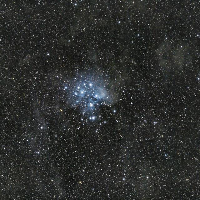 """Pleiades."" stock image"