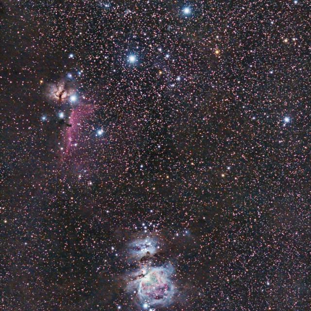 """""""Orion Nebula."""" stock image"""