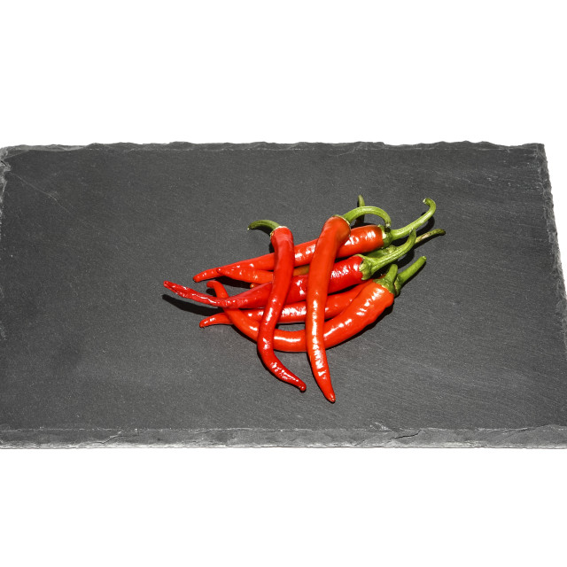 """""""Red chilli peppers"""" stock image"""