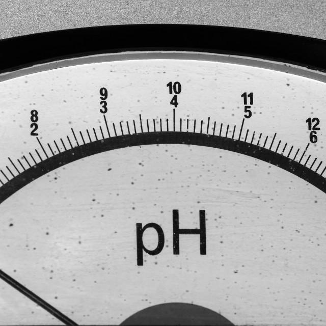 """PH meter"" stock image"