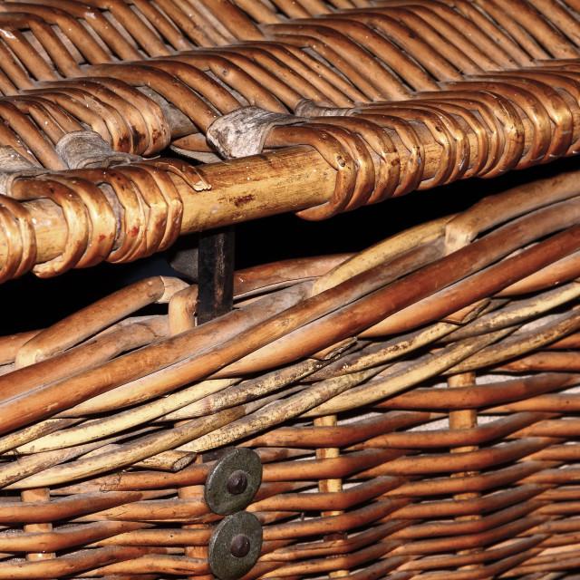 """""""Wicker basket"""" stock image"""