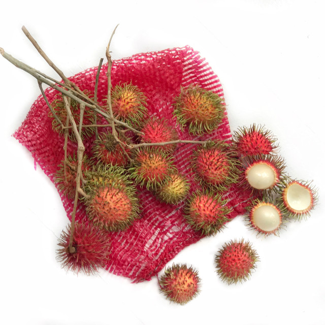 """Rambutan fruit"" stock image"