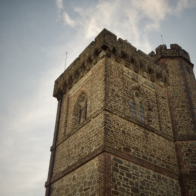 """""""Leith Hill Tower"""" stock image"""