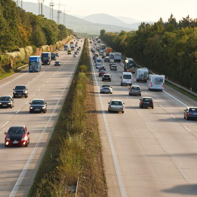 """German Highway"" stock image"