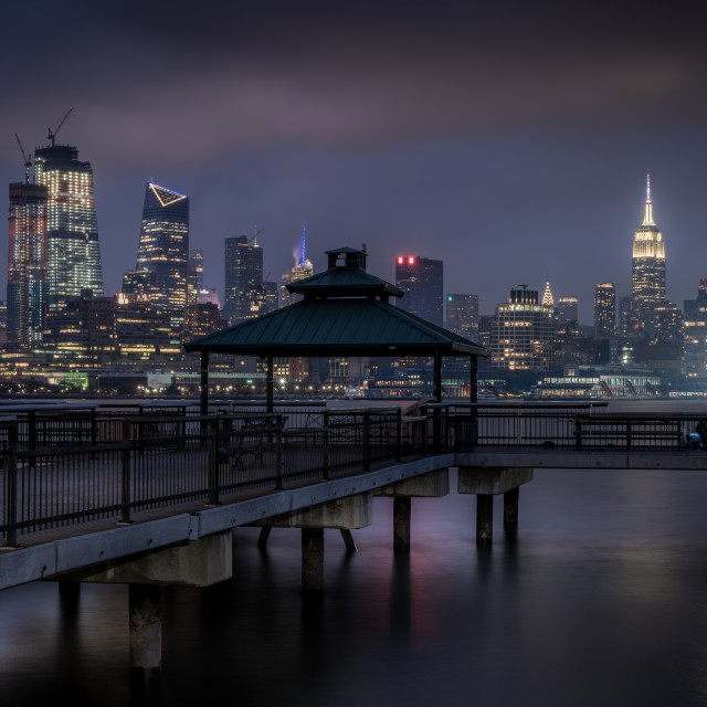 """Moody Evening NYC"" stock image"