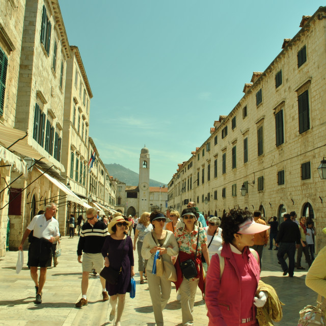 """City of Dubrovnik, Adriatic, Croatia"" stock image"