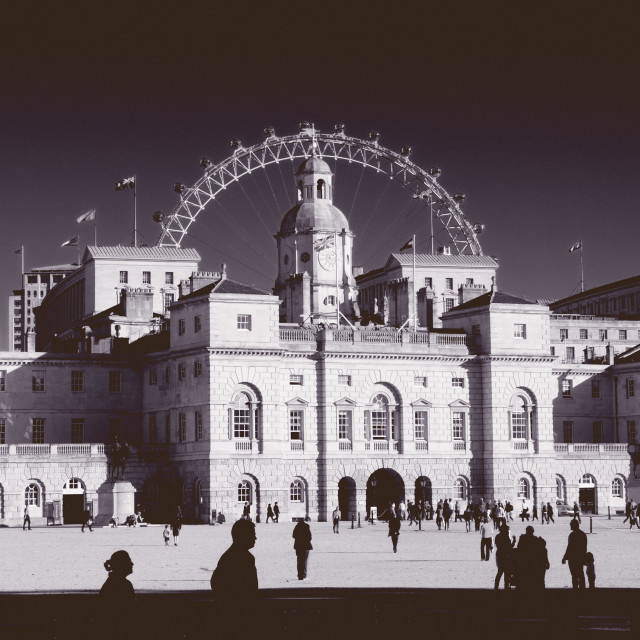 """Horse Guards Parade, London"" stock image"