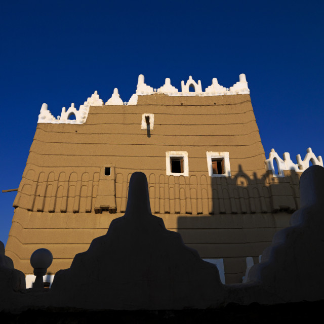 """Najran mud fort, Saudi arabia"" stock image"
