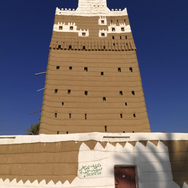 """Najran style architecture, Saudi arabia"" stock image"