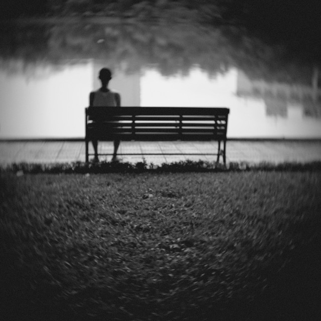 """""""Lonely"""" stock image"""