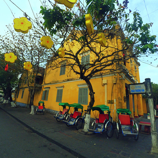 """""""Hoian by action cam"""" stock image"""