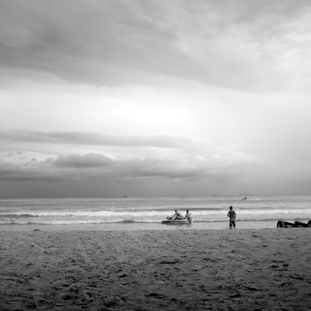 """Nha Trang beach"" stock image"