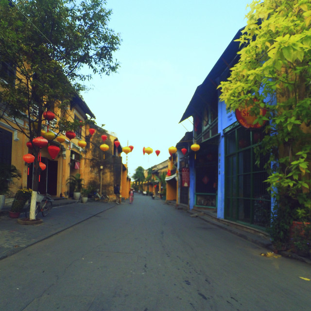 """""""Hoian by action cam 2"""" stock image"""