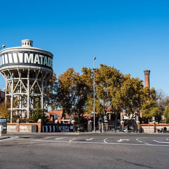 """Matadero art center in Madrid"" stock image"